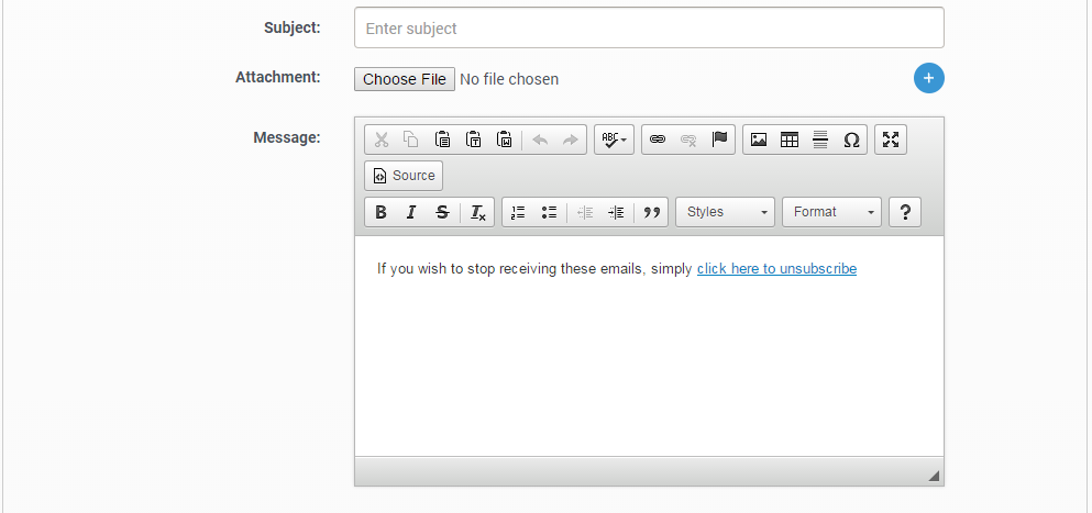 email msg